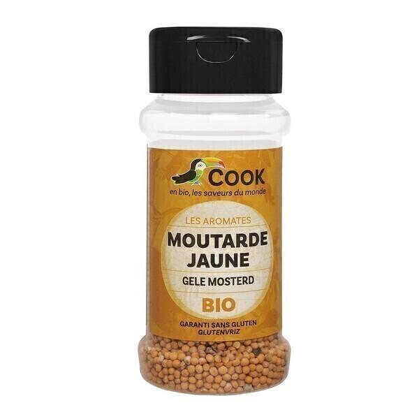 Cook - Graines de moutarde jaune 60g bio