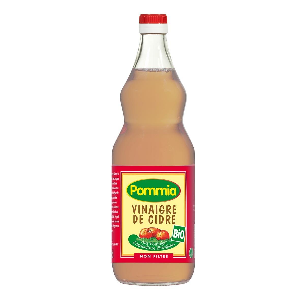 Pommia - Vinaigre de cidre non filtré 5° 1l bio