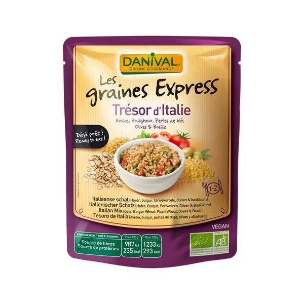 Danival - Graines Express Trésor d'Italie 250g bio