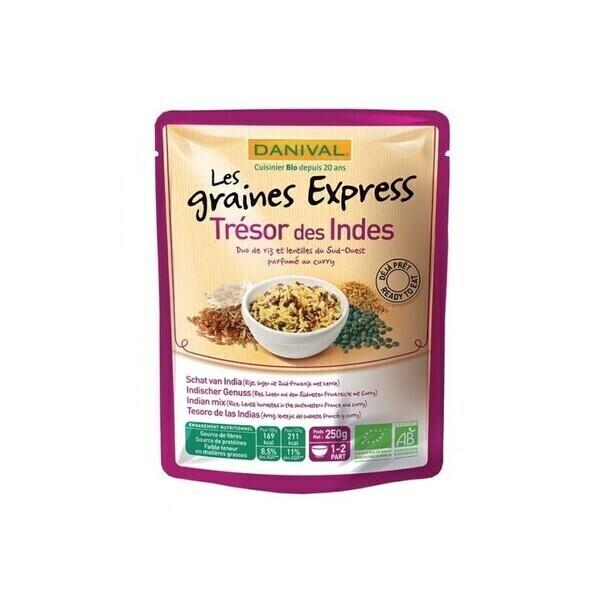 Danival - Graines Express Trésor des Indes 250g bio