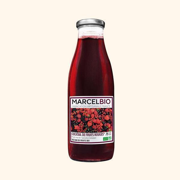 Marcel Bio - Cocktail de Fruits Rouges Bio - 75cl
