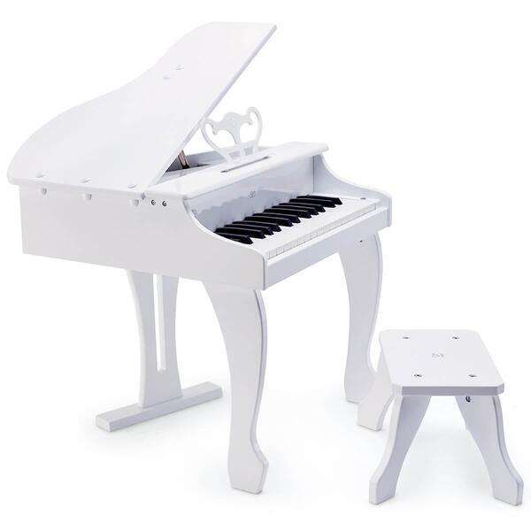 Hape - Piano à queue électronique blanc hape