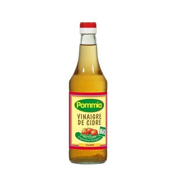 Pommia - Vinaigre de cidre filtré 5° 0.5l bio