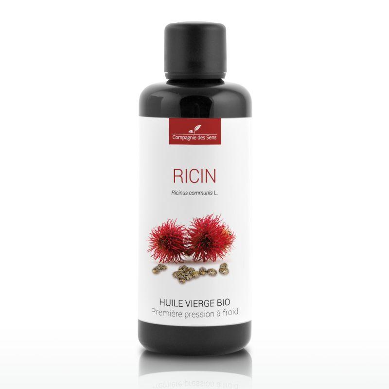 Compagnie des Sens - Ricin - Huile Végétale Vierge BIO - Flacon en verre - 100mL