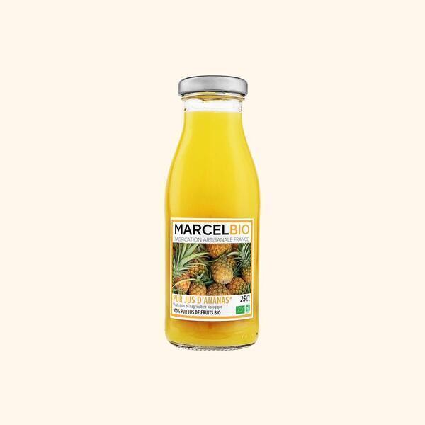 Marcel Bio - Pur Jus d'Ananas Bio - 25cl