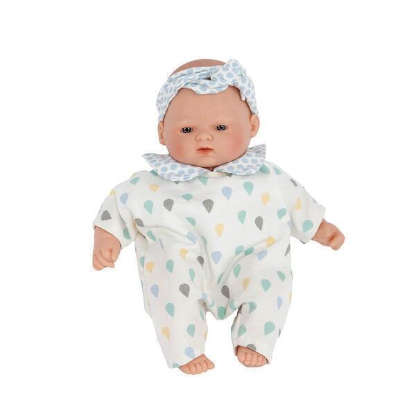Barrutoys - Poupée 26cm LITTLE BABIES GOUTTES Barrutoys bleu-vert