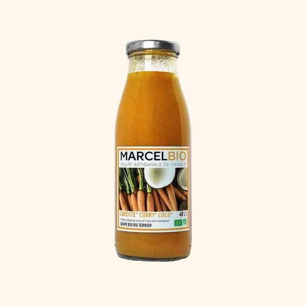 Marcel Bio - Soupe de Carotte Curry Coco Bio - 48cl