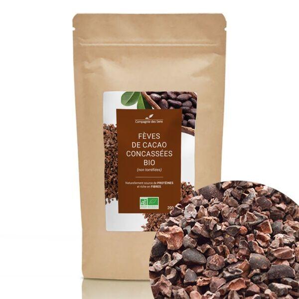 Compagnie des Sens - Fèves de Cacao concassées BIO - Fruits séchés en vrac - 200g