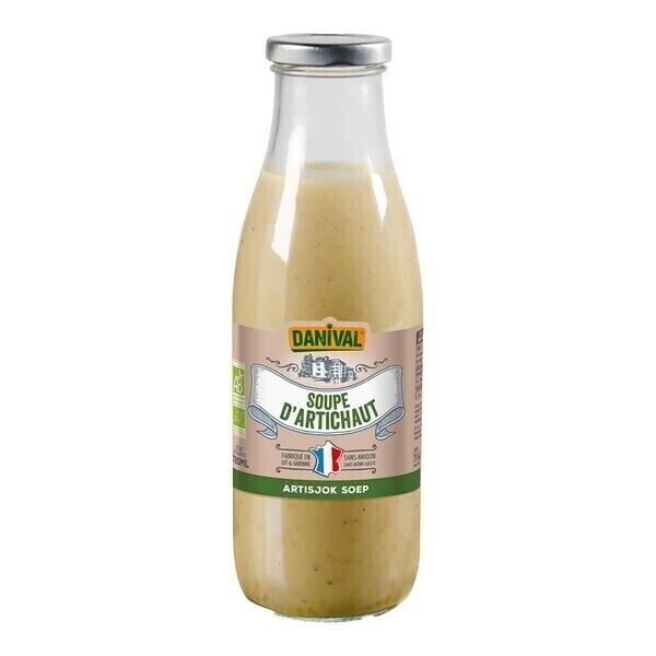 Danival - Soupe à l'artichaut 72cl bio