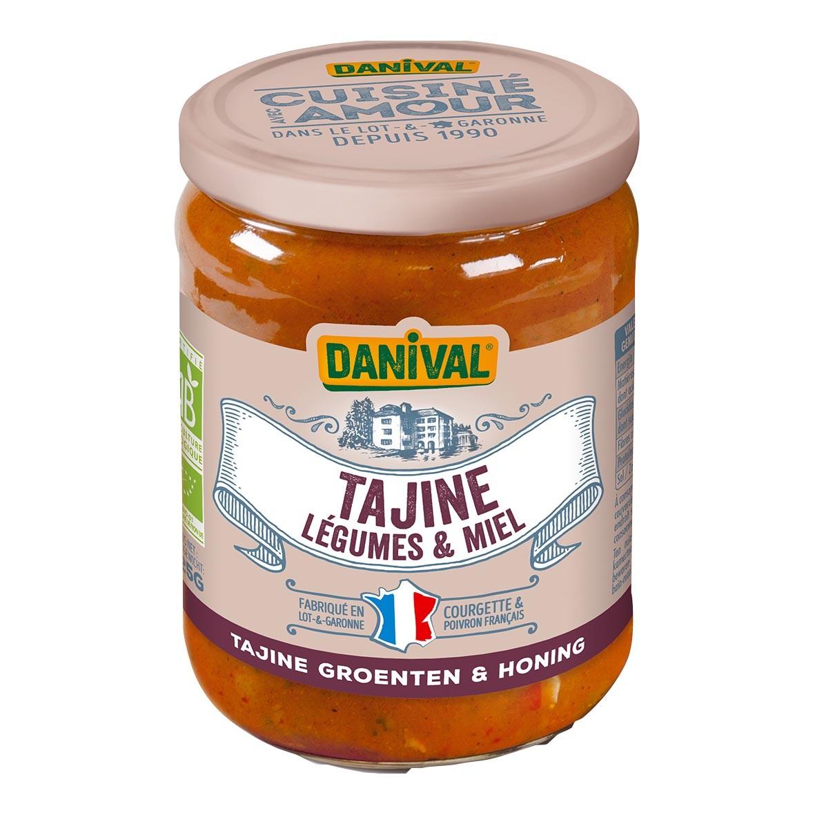 Danival - DANIVAL - TAJINE aux 6 légumes et MIEL  525G