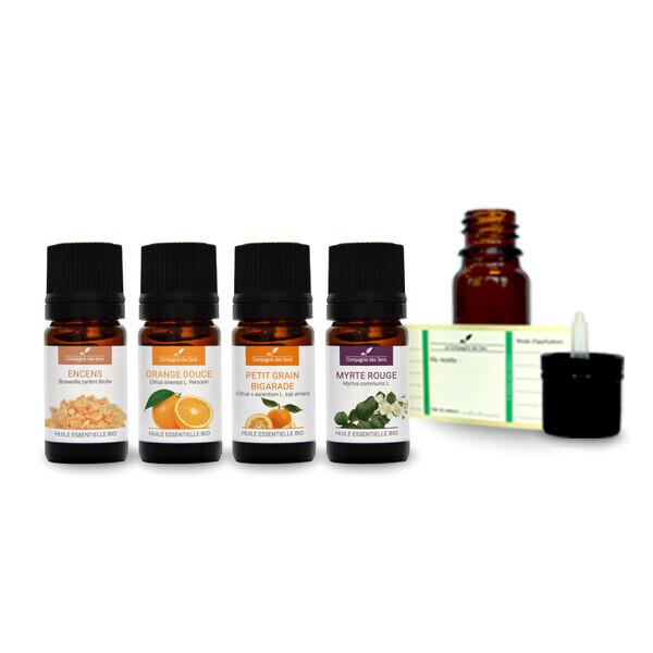 Compagnie des Sens - Ambiance orientale - Pack d'huiles essentielles BIO -
