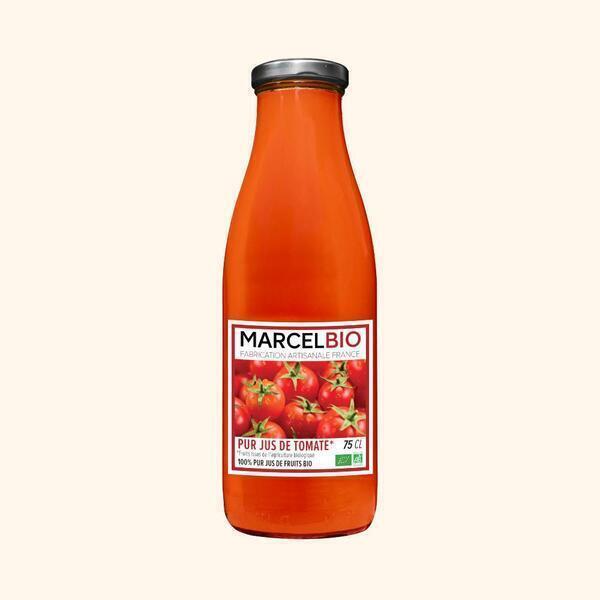 Marcel Bio - Pur Jus de Tomates Bio - 75cl