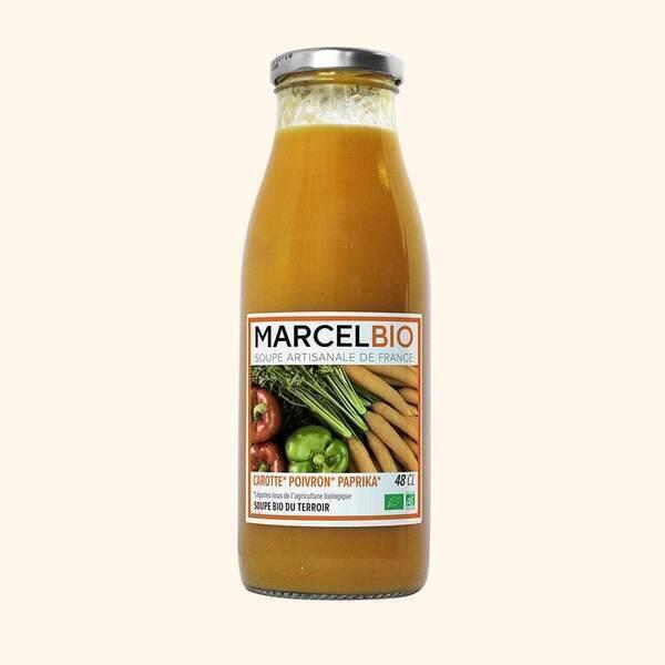 Marcel Bio - Soupe de Carotte Poivron Paprika Bio - 48cl