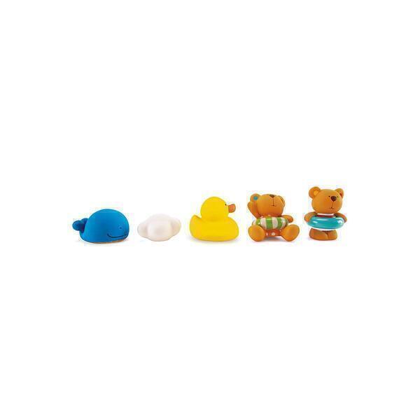 Hape - Jouets de bain TEDDY AND FRIENDS Hape
