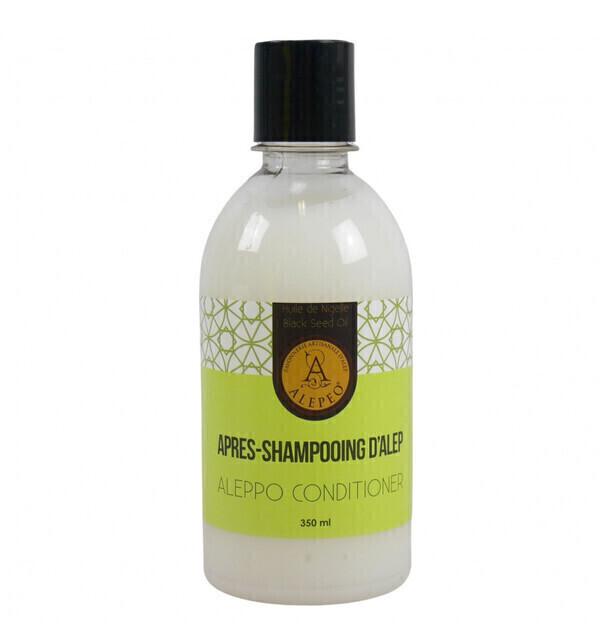 Alepeo - Soin après-shampoing démêlant au savon d'Alep 350 ml