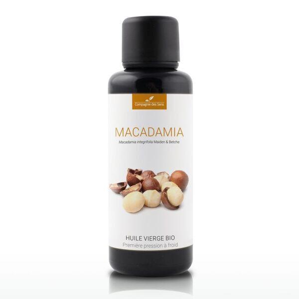 Compagnie des Sens - Macadamia - Huile Végétale Vierge BIO - Flacon en verre - 50mL