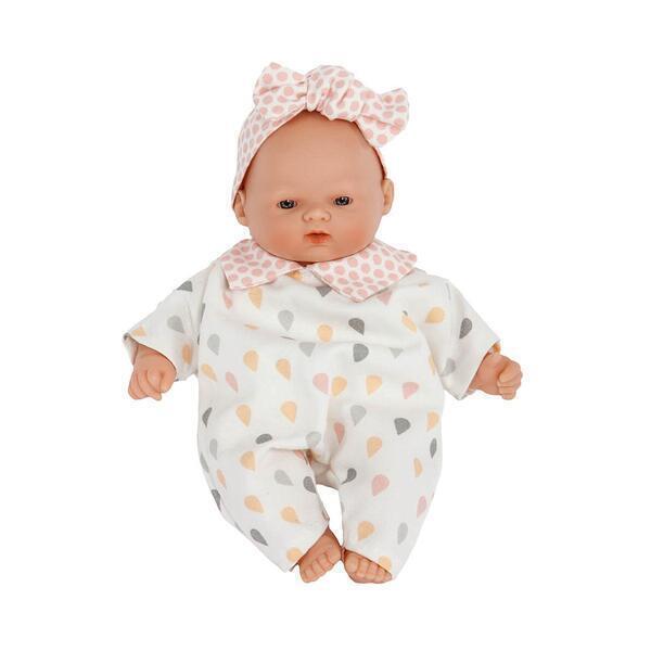 Barrutoys - Poupée 26cm LITTLE BABIES GOUTTES Barrutoys rose-jaune
