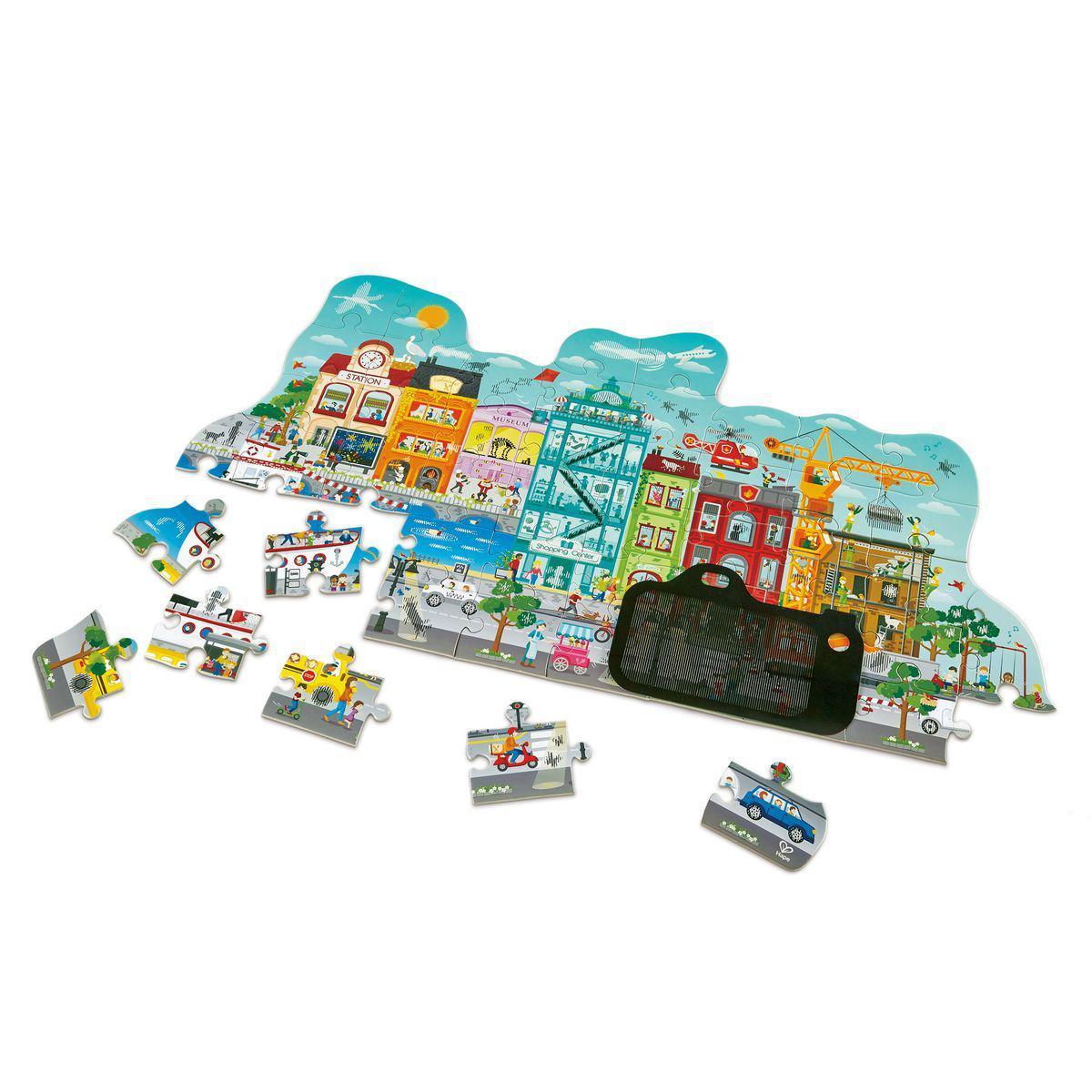 Hape - Puzzle animé CITY Hape