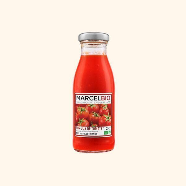Marcel Bio - Pur Jus de Tomates Bio - 25cl
