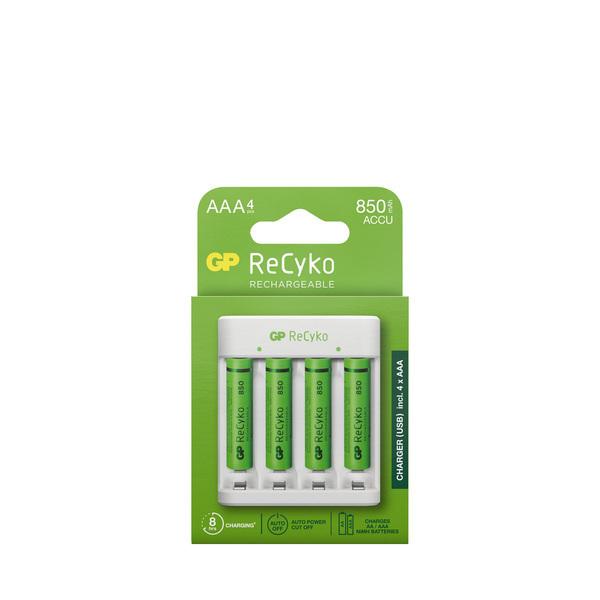 GP Batteries - Chargeur + 4 accus AAA/LR03 - 850 mAh - 25% remboursés