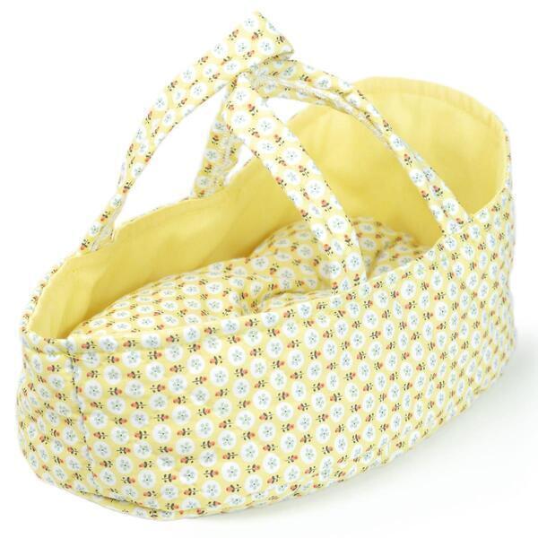 Barrutoys - Couffin poupée 26cm FLORENCE jaune