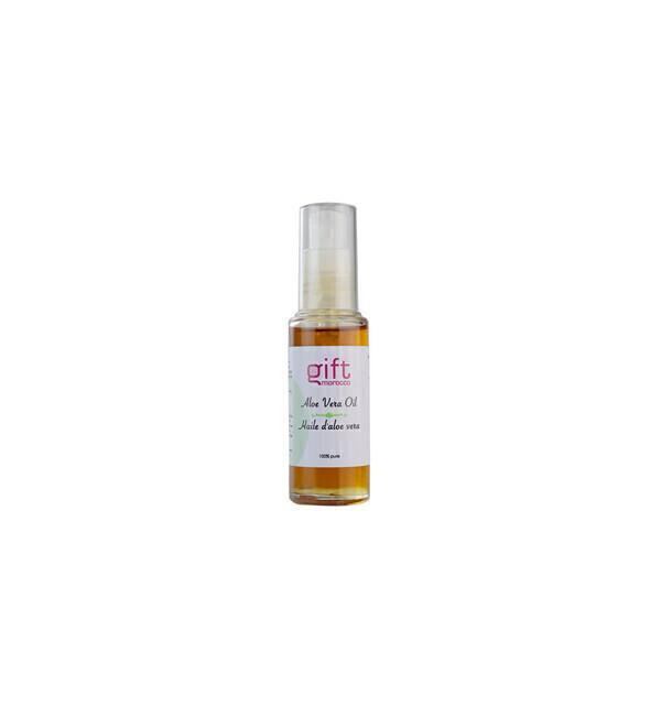 Gift Morocco - Huile végétale d'Aloe Vera pure et naturelle - 30ml Gift Morocco