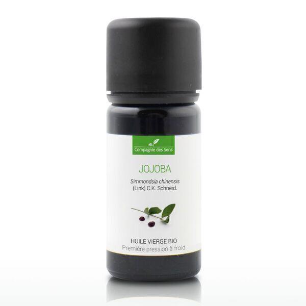 Compagnie des Sens - Jojoba - Huile Végétale Vierge BIO - Flacon en verre - 10mL