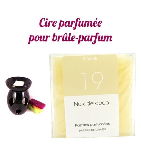 """Drake Home Fragrances - Pastilles de cire parfumée, senteur """"Noix de Coco"""" par Drake"""