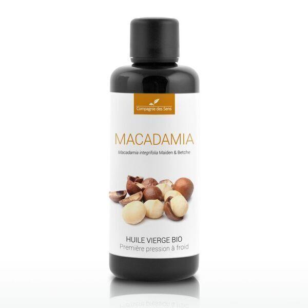 Compagnie des Sens - Macadamia - Huile Végétale Vierge BIO  - 100mL