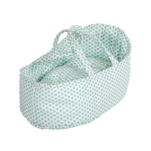 Barrutoys - Couffin poupée 26cm DOTS Barrutoys vert
