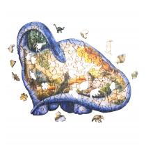 The Wild Puzzle - Nouveaux Nes 130P Dinosaure
