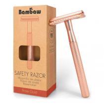 Bambaw - Rasoir de sûreté en métal or rose