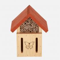Nestbox - Hôtel à insectes 2 en 1 en pin massif