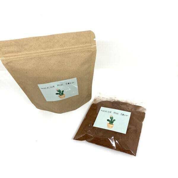 Healthy mini box - Pink cacao latte, poudre boisson  betterave et cacao bio