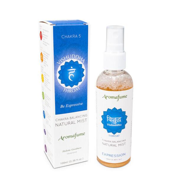 "Aromafume - Parfum d'ambiance en Spray ""5ème Chakra"" 100ml"