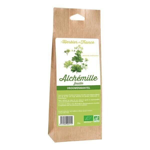 L'Herbier de France - Alchémille plante 25g bio