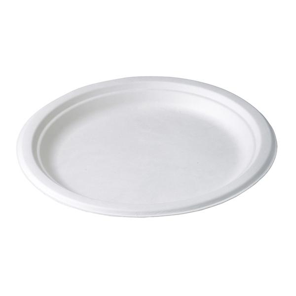 Unikeco - Assiette ronde Basic Line 22 cm fibre x 50 Unikeco