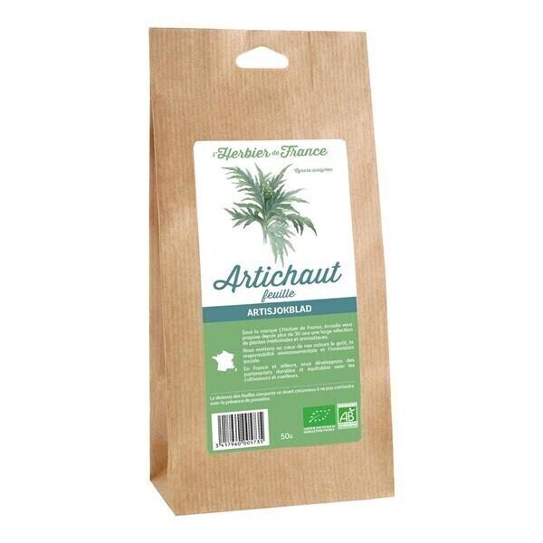 L'Herbier de France - Artichaut feuilles 50g bio