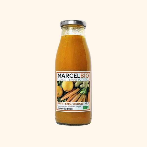 Marcel Bio - Soupe de Carotte Orange Gingembre Bio - 48cl