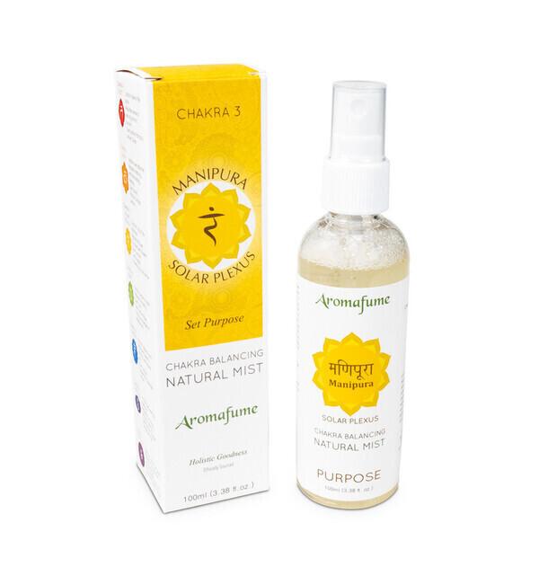 "Aromafume - Parfum d'ambiance en Spray ""3ème Chakra"" 100ml"