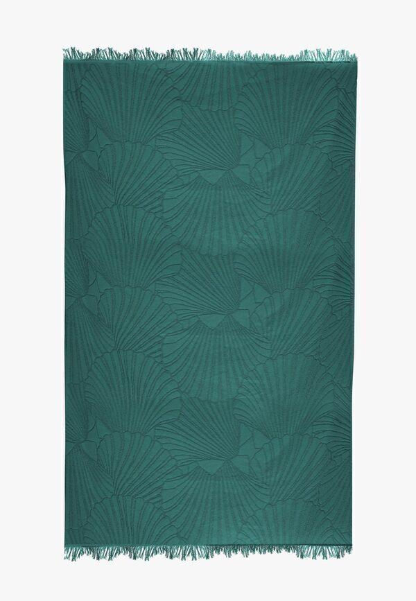 Nuances - Fouta de plage coton 320g 100/180cm coquillages abysse
