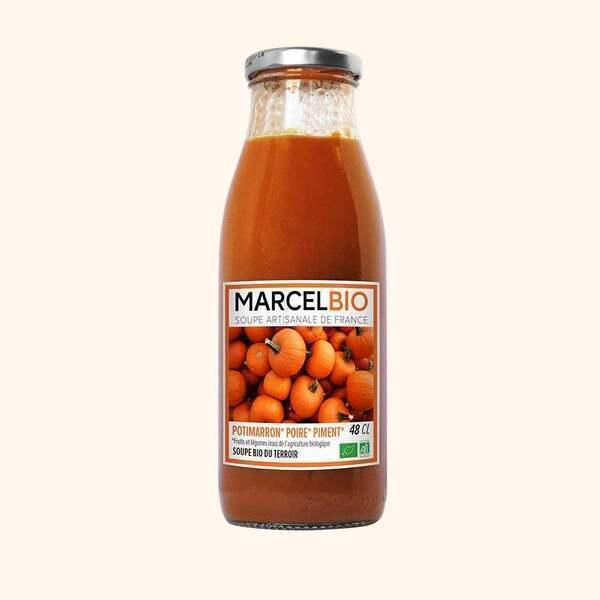 Marcel Bio - Soupe de Potimarron Poire Piment Bio - 48cl