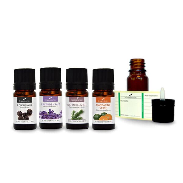 Compagnie des Sens - Ambiance Cocoon - Pack d'huiles essentielles BIO -