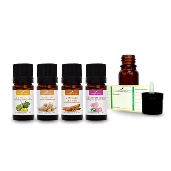 Compagnie des Sens - Ambiance exotique - Pack d'huiles essentielles BIO -
