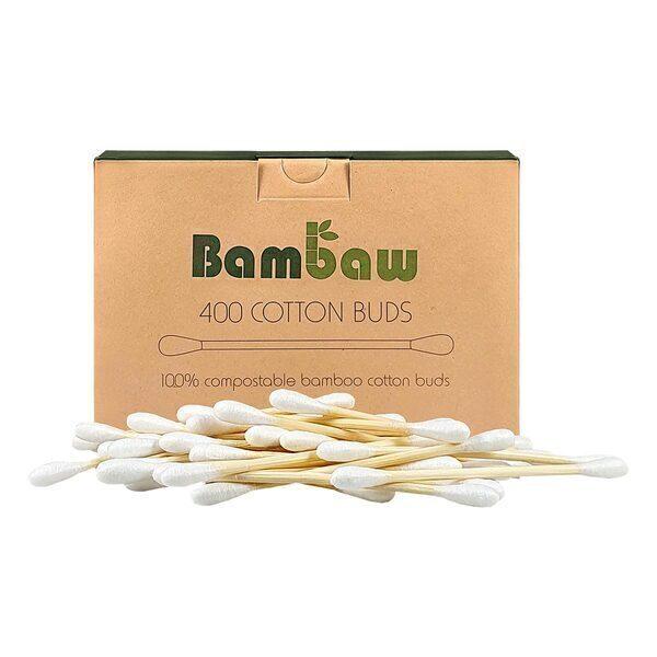 Bambaw - Boîte de 400 cotons-tiges en bambou