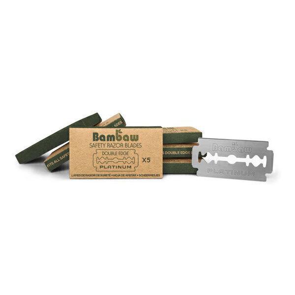 Bambaw - Lames de rasoir de sureté x100