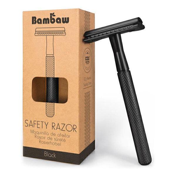 Bambaw - Rasoir de sûreté en métal noir