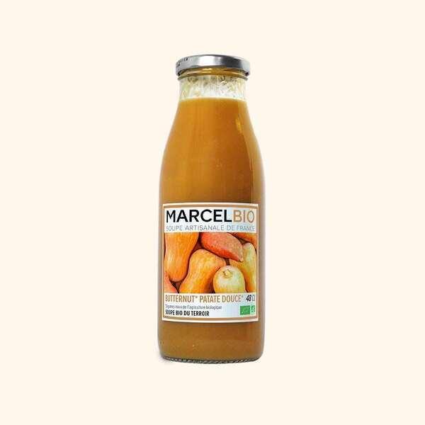 Marcel Bio - Soupe de Butternut Patate Douce Bio - 48cl