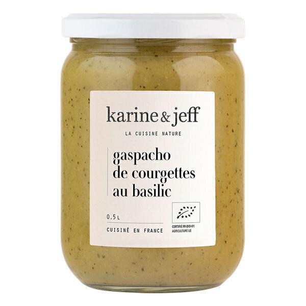 Karine & Jeff - Gaspacho de courgettes et basilic 50cl