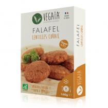 Vegaïa - FALAFEL lentilles corail 6pce 160g